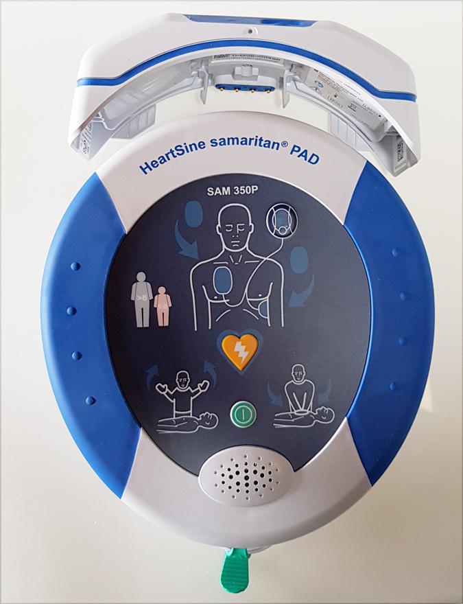 Samaritan PAD Telecontrollato con HeartSine Gateway